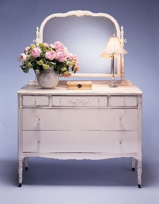 juniper hill antiques vintage distressed white