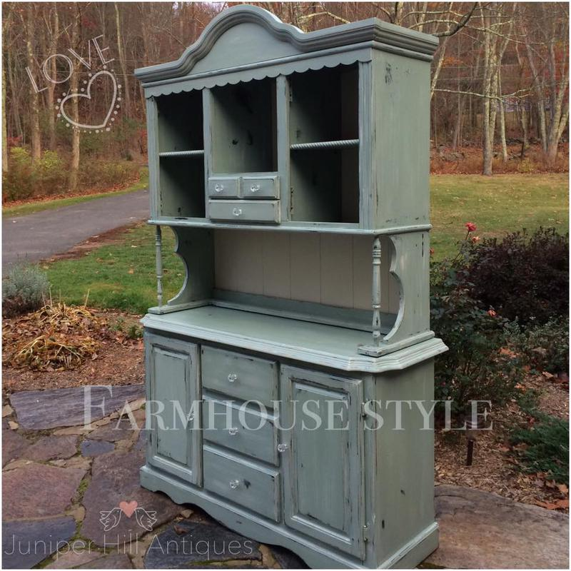 Farmhouse Hutches Sideboards Buffets Painted