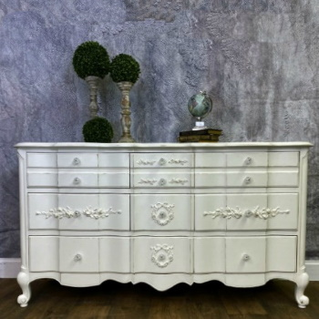 Shabby Chic French Provincial dresser