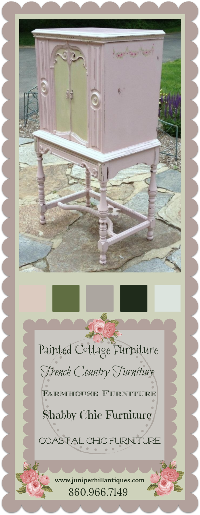Hand Painted Cottage furniture, shabby chic furniture ...