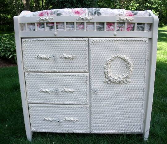 Vintage Changing Table For Baby