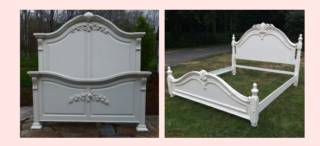King Size Shabby Chic Painted Cottage Beds