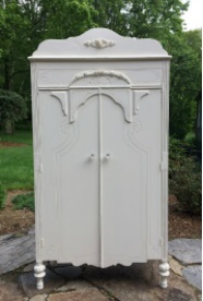 Shabby Chic Vintage Armoire